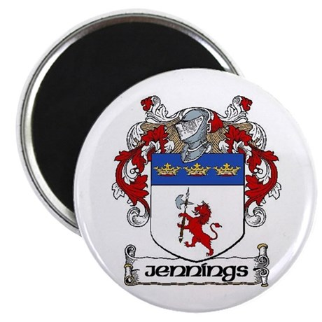 "Jennings Coat of Arms 2.25"" Magnet (10 pack)"