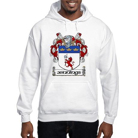 Jennings Coat of Arms Hooded Sweatshirt