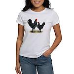 Black Langshan Chickens Women's T-Shirt