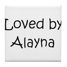 Unique Alayna Tile Coaster