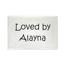 Unique Alayna Rectangle Magnet