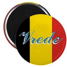Belgian Peace Magnet
