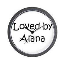 Cute Alana Wall Clock