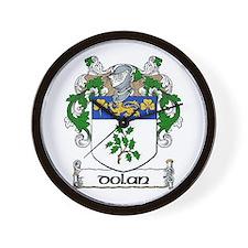 Dolan Coat of Arms Wall Clock