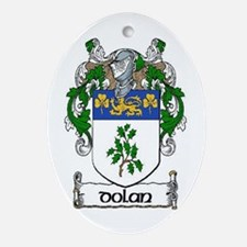 Dolan Coat of Arms Ornament (Oval)