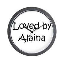 Cute Alaina Wall Clock