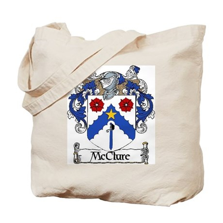 McClure Coat of Arms Tote Bag