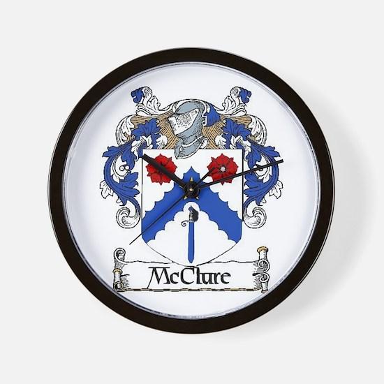McClure Coat of Arms Wall Clock