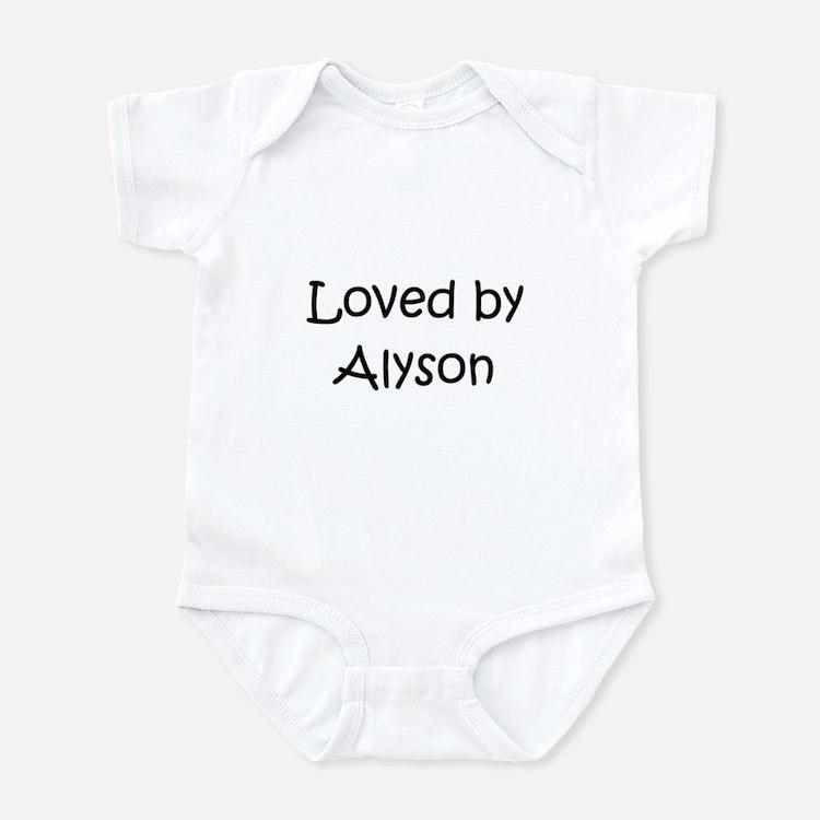 Cute Alyson Infant Bodysuit
