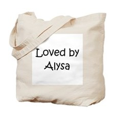 Unique Alysa Tote Bag