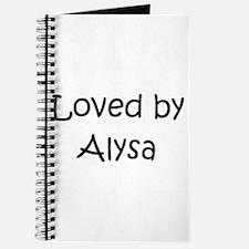 Cute Alysa Journal
