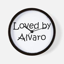 Unique Alvaro Wall Clock