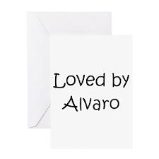 Unique Alvaro Greeting Card