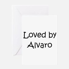 Cute Alvaro Greeting Card