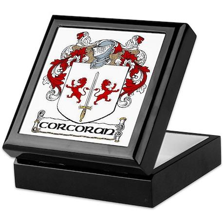 Corcoran Coat of Arms Keepsake Box