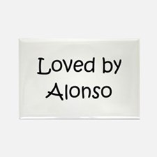 Unique Alonso Rectangle Magnet