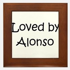 Unique Alonso Framed Tile