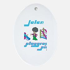 Jalen - Playground Pimp Oval Ornament