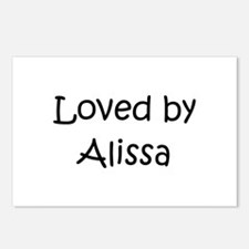 Unique Alissa Postcards (Package of 8)