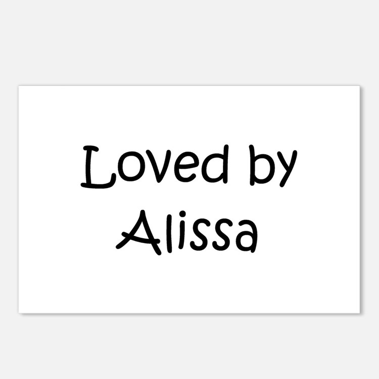 Cute Alissa Postcards (Package of 8)