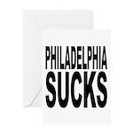 Philadelphia Sucks Greeting Card