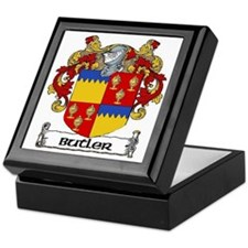 Butler Coat of Arms Keepsake Box