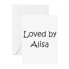 Cute Alisa Greeting Cards (Pk of 10)