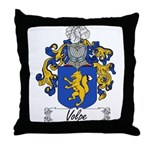 Volpe Family Crest Throw Pillow