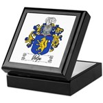Volpe Family Crest Keepsake Box