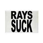 Rays Suck Rectangle Magnet