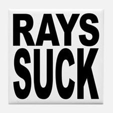 Rays Suck Tile Coaster