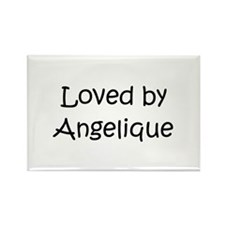 Funny Angelique Rectangle Magnet (10 pack)