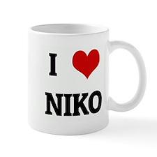 I Love NIKO Mug