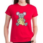 Mouse & Cheese Women's Dark T-Shirt