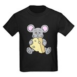 Mouse & Cheese Kids Dark T-Shirt