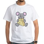 Mouse & Cheese White T-Shirt