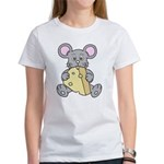 Mouse & Cheese Women's T-Shirt