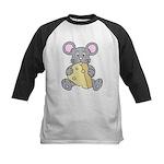 Mouse & Cheese Kids Baseball Jersey
