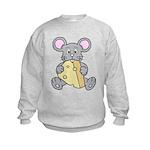 Mouse & Cheese Kids Sweatshirt