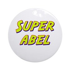 Super abel Ornament (Round)
