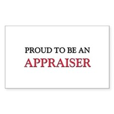 Proud To Be A APPRAISER Rectangle Decal