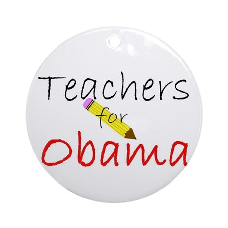 Teachers Ornament (Round)