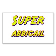 Super abbigail Rectangle Decal