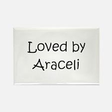 Cute Araceli Rectangle Magnet