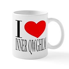I LOVE INNER QWGHLM Mug
