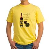 Bocce Mens Yellow T-shirts