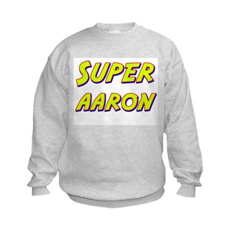 Super aaron Kids Sweatshirt