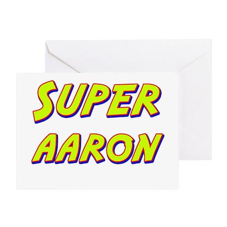 Super aaron Greeting Card