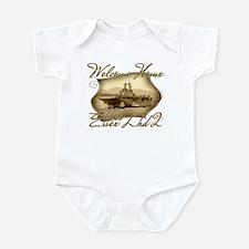 Unique Uss essex Infant Bodysuit