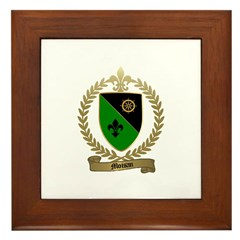 MOISAN Family Crest Framed Tile